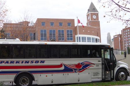 Parkinson Coach Lines - Coach Rental Toronto