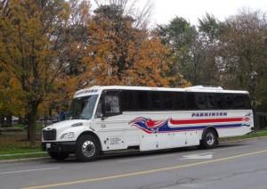 32 passenger exterior coach parkinson coach lines