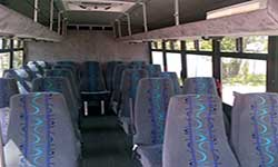 parkinson coach lines 20 seaters bus