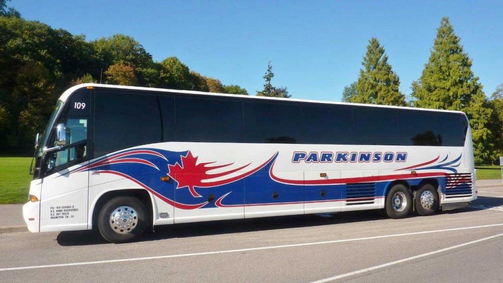 Parkinson Coach Lines Brampton