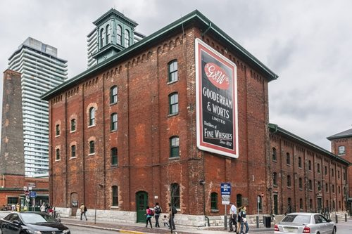 Get to Toronto's Famous Distillery District via Minibus