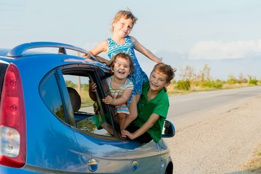 How to Drive Long Distances with Fussy Kids