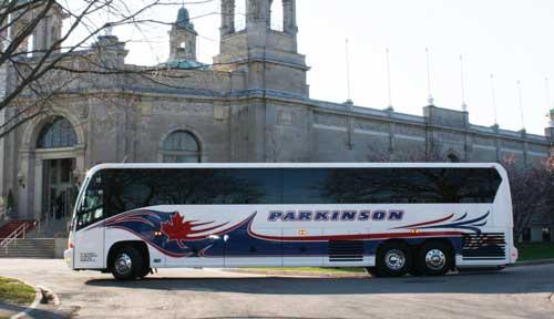 Parkinson Coach Lines Brampton Ontario Canada