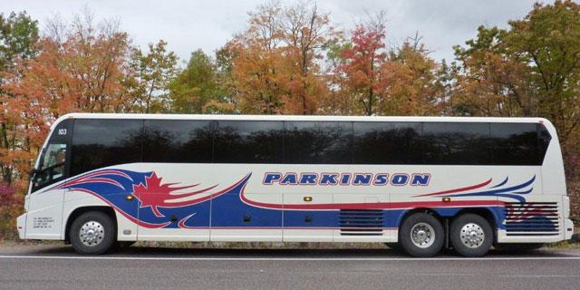 parkinson-charter-bus