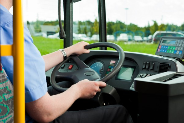 driver sitting in his bus_1