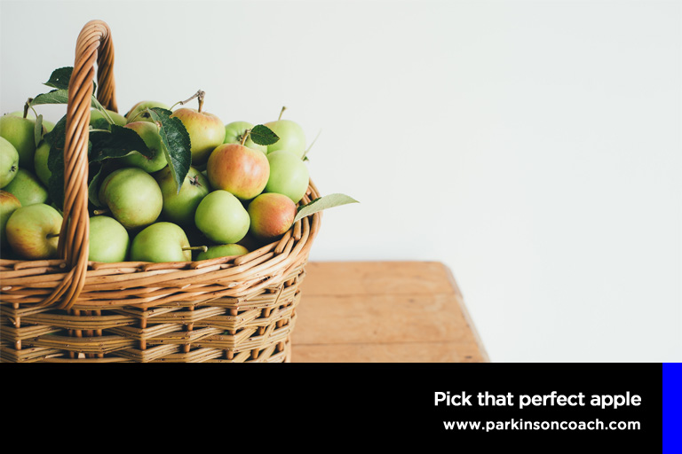 Pick that perfect apple
