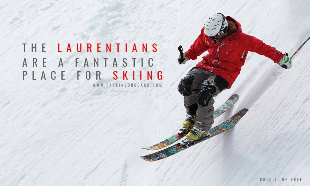 The Laurentians are a fantastic place for skiingCredit: Up-Free