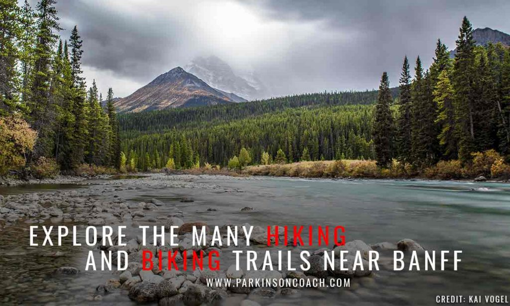 Explore the many hiking and biking trails near Banff