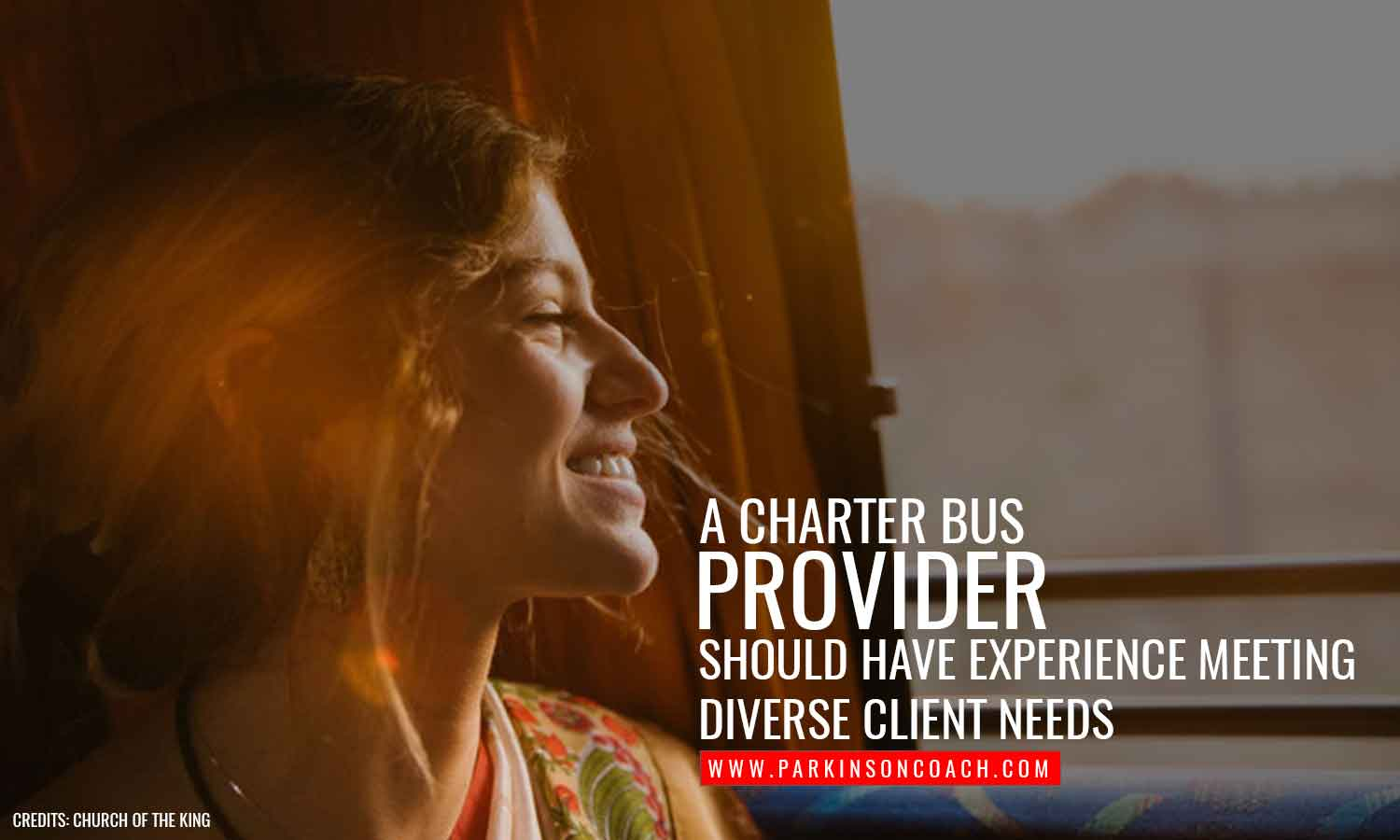 charter bus provider experience meeting diverse client needs