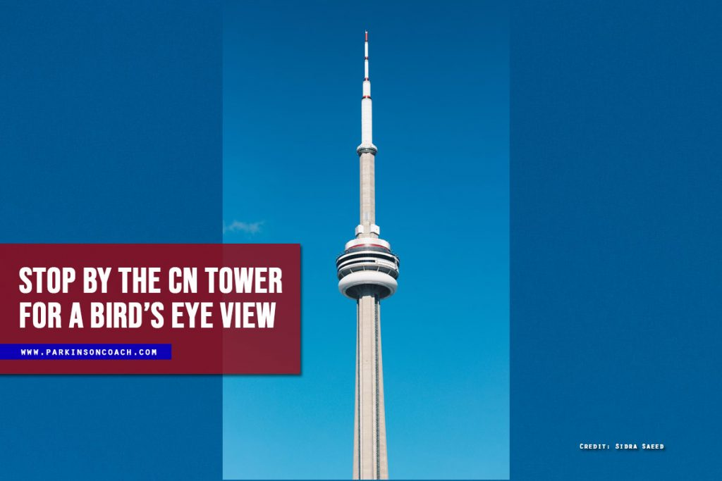 Stop by the CN tower for a bird's eye view