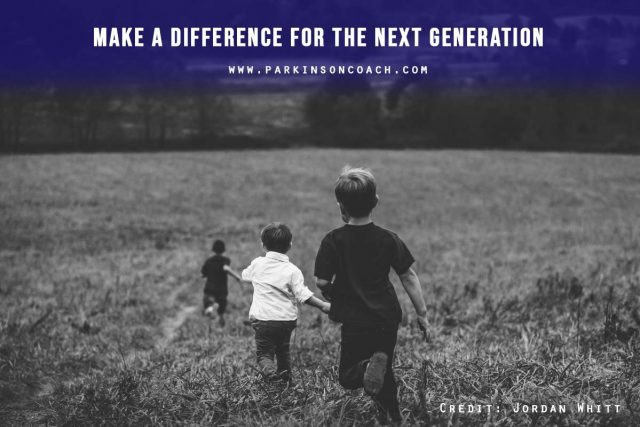 Make a difference for the next generation