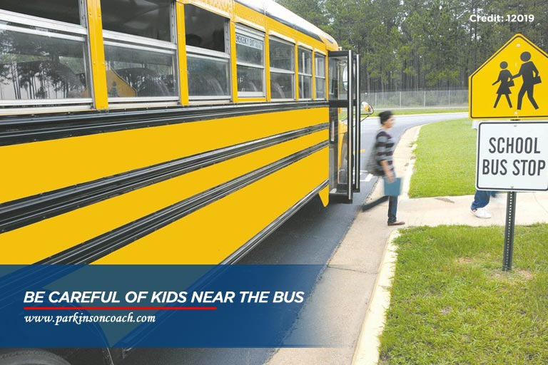 be careful of kids