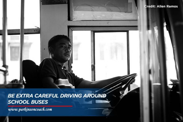 be extra careful driving