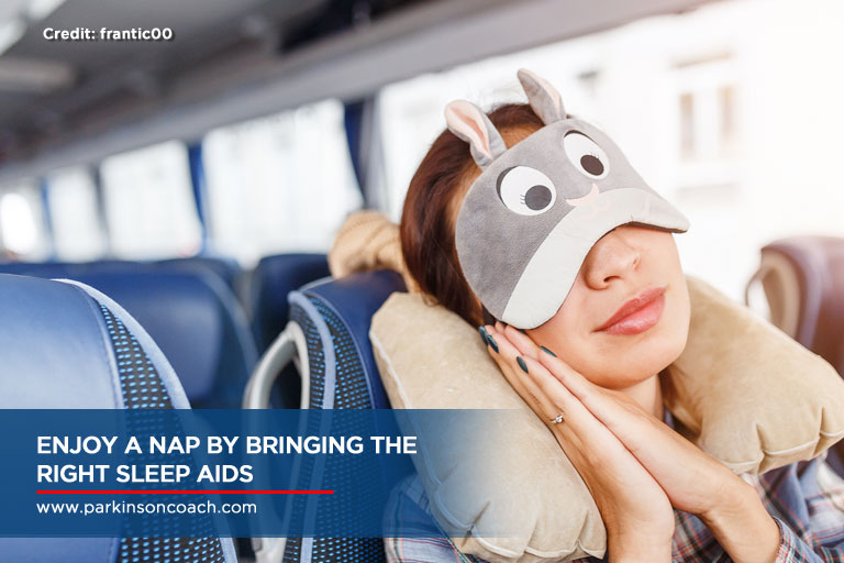 Enjoy a nap by bringing the right sleep aids