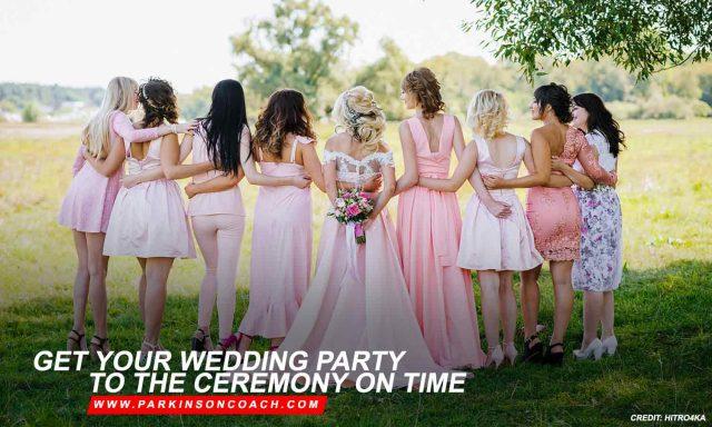 wedding party ceremony