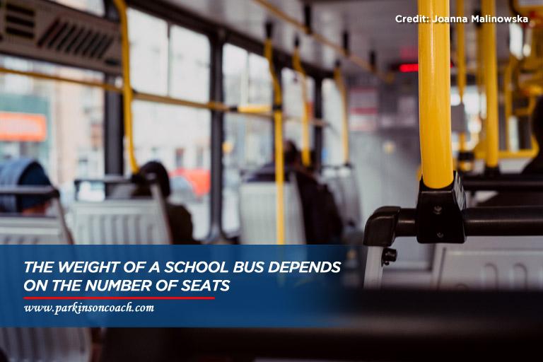 weight of school bus